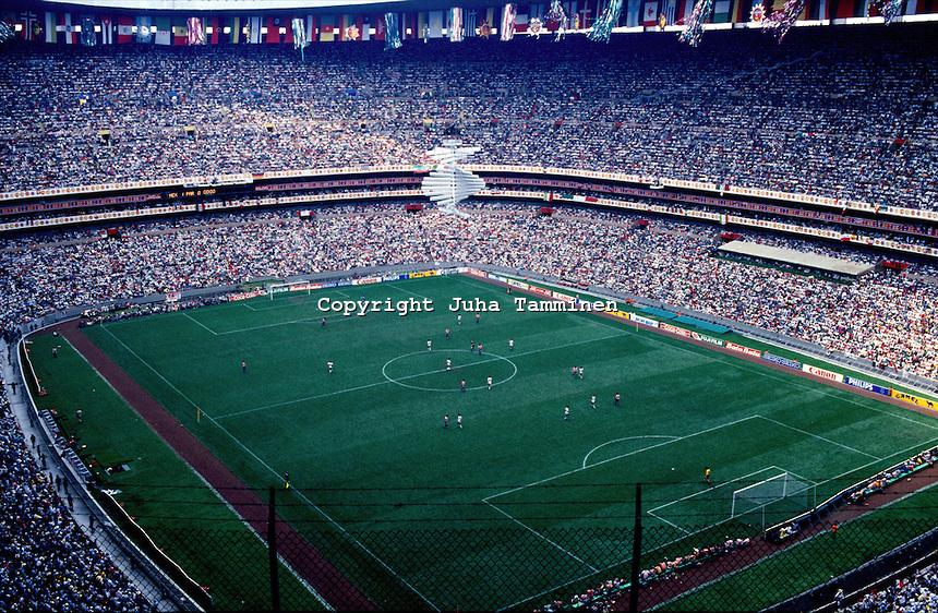 World cup mexico 1986 for Puerta 1 estadio azteca
